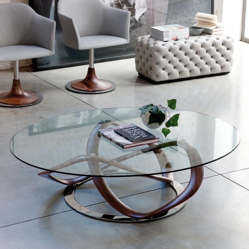 Infinity Oval Coffee Table By Porada